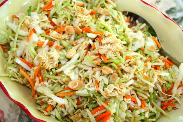 salad thai chicken and noodle salad ramen noodle salad instant ramen ...